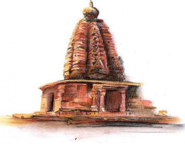 Galaganatha Temple in Pattadakal