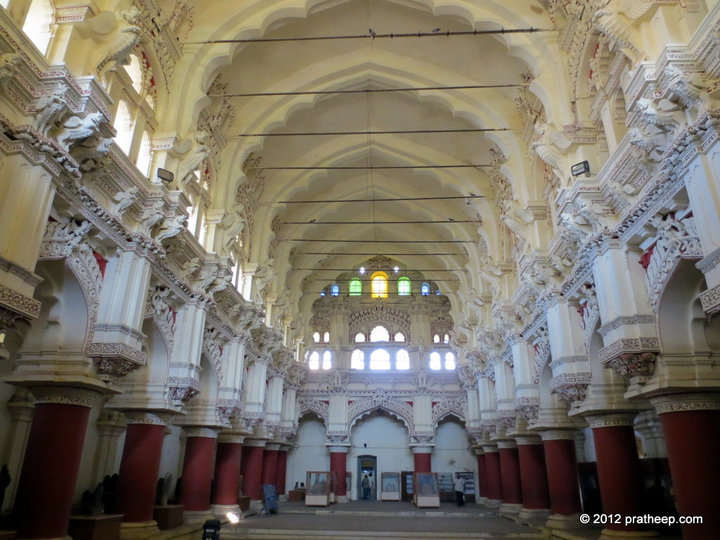 Dance Hall inside Thirumalai Nayakar Mahal