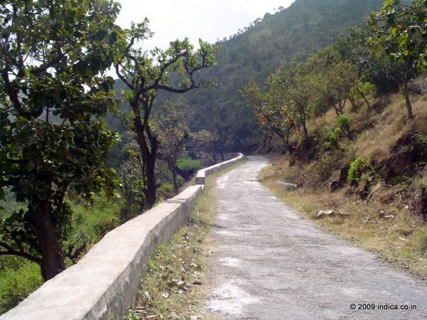 Road to Gopalswami Beta, a detour from the Bandipur route
