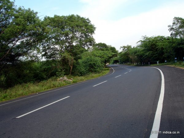 At Bannary the road gets straight suddenly and you can zoom to makeup what is lost in the ghat section driving.
