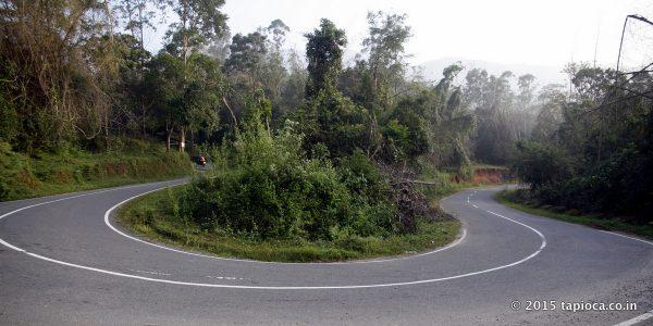 Road Near Tamarind Hotel in Thirunelli