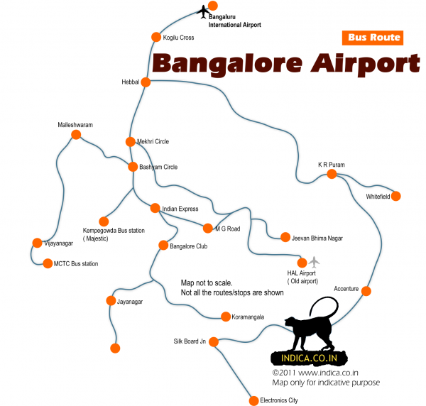 Bus Service to Bangalore Airport