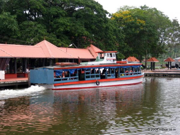 The state operated boat service at Kollam