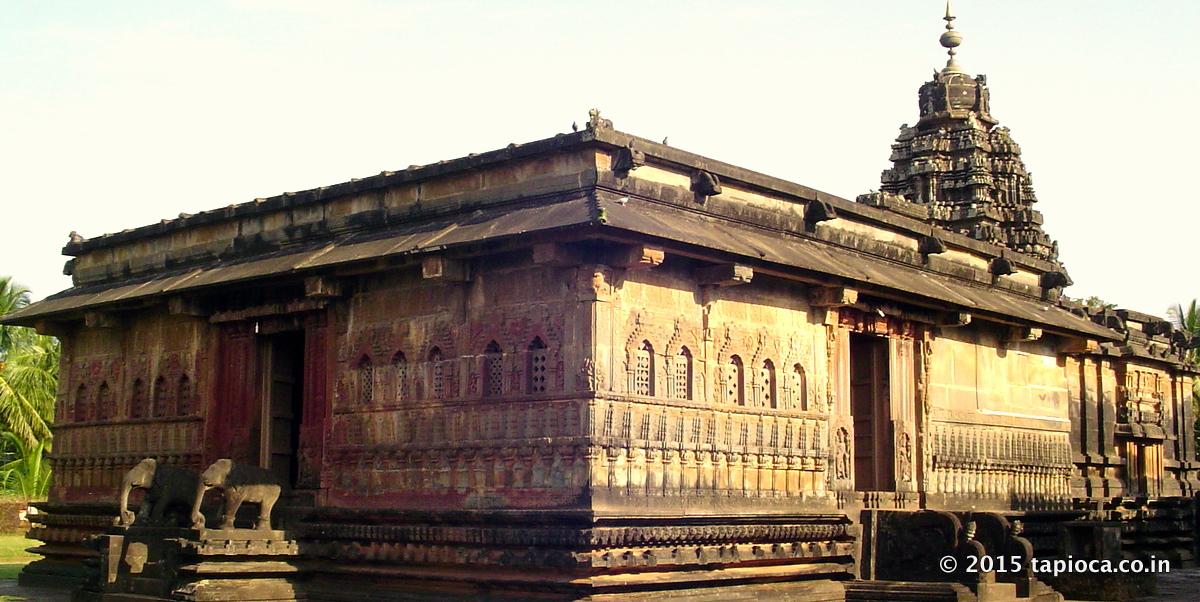 The Aghoreshwara Temple in Ikkeri