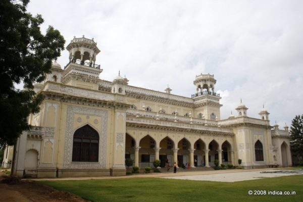 The palace in Hyderabad is now converted into an impressive museum.