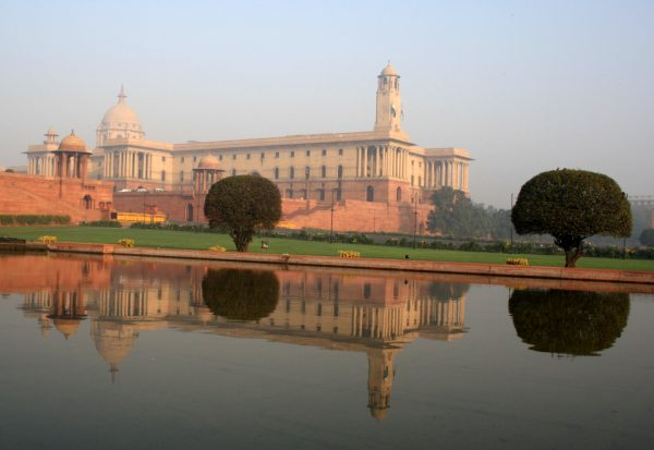 Lutyens architecture in New Delhi