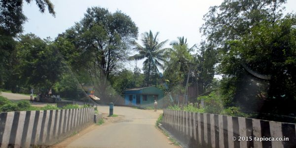 Kerala Karnataka border at Bavali.