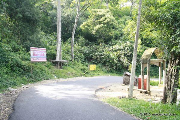 Shenkottai to Achankovil road