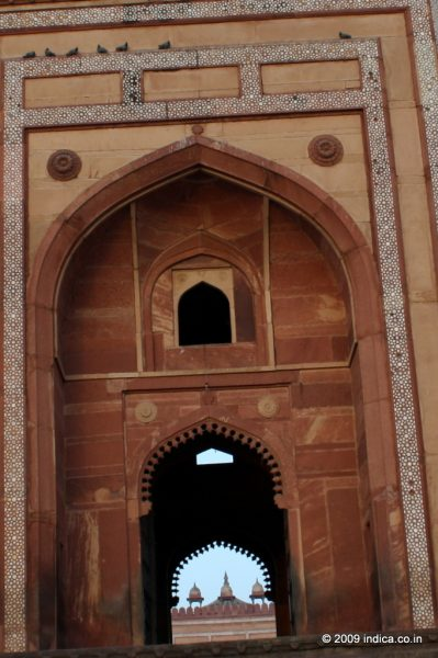 Badshahi Darwaza, also called the King's Gateway to to the cathedral mosque