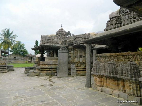 Porch of Amruteshvara Temple at Amruthapura