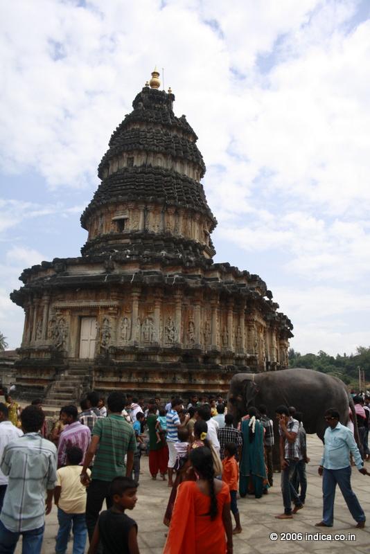 Vidyashankara temple at Sringeri