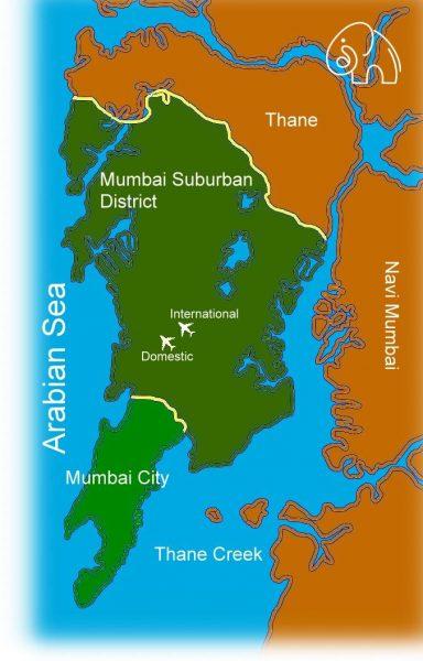 Mumbai and surrounding regions