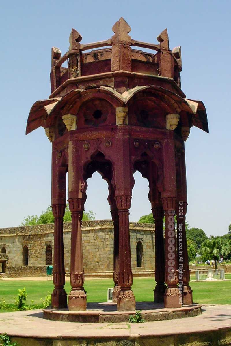 Smith's Folly at Qutab Minar Complex in Delhi