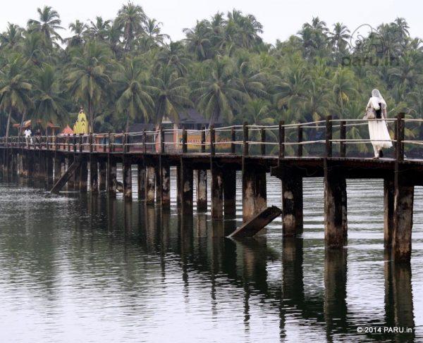 Achanthuruthu Footbridge near Nileshwaram Town