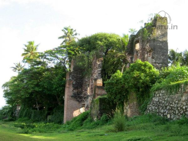 Ruins of the Dutch fort at Kollam