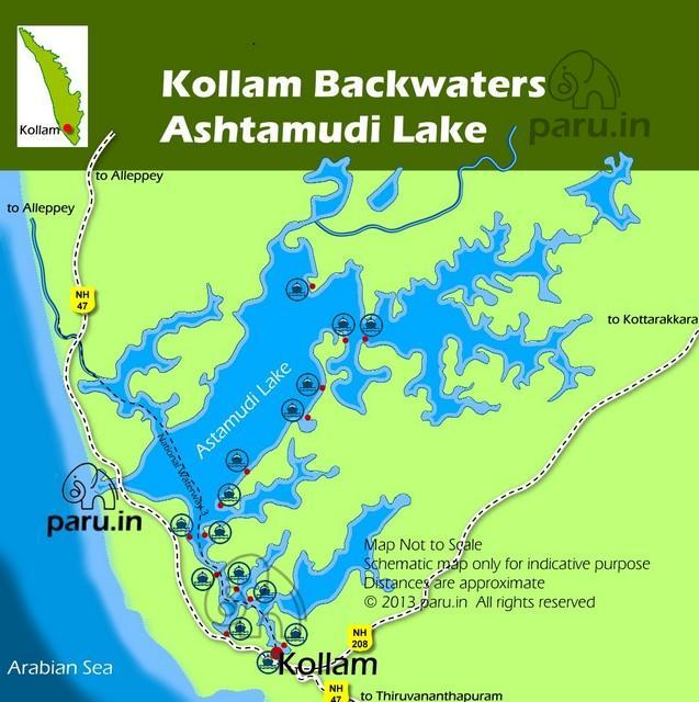 Ashtamudi Lake: Ashtamudi Backwaters