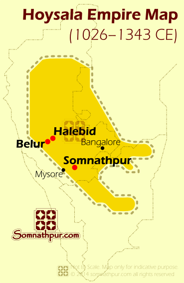 Hoysala Map