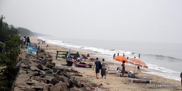 Southern parts of Cherai Beach