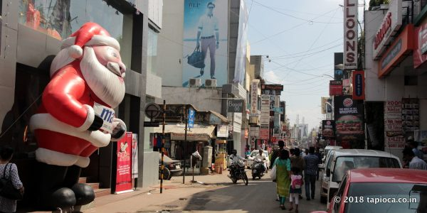 Commercial Street Of Bangalore