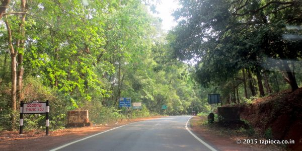 Kerala-Karnataka border at Jalsoor