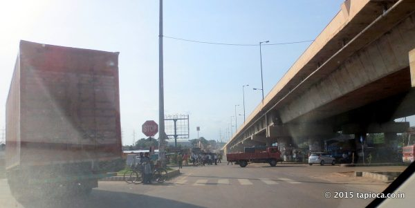 NH 275 crosses Tumkur Road (NH48)