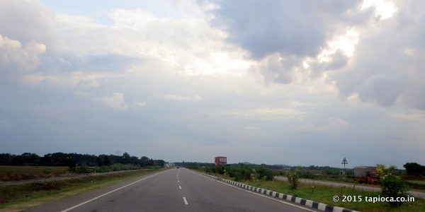 NH75 near Channarayapatna.