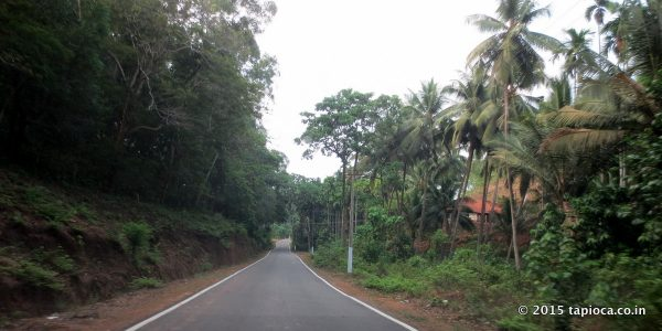 Road in Kerala after Jalsoor